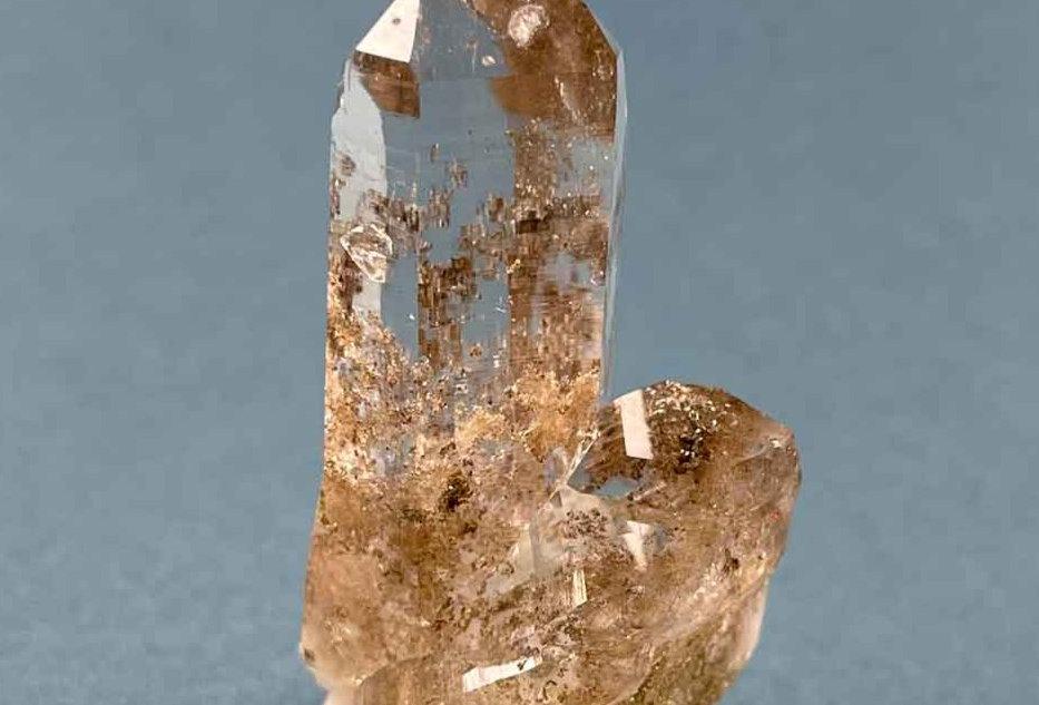 Bergkristall mit Chloriteinschluss - Rauris, Österreich