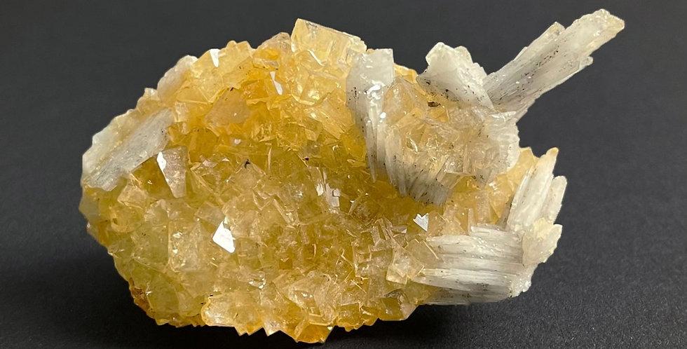 Fluorit mit Baryt – Belorechenskoye, Russland