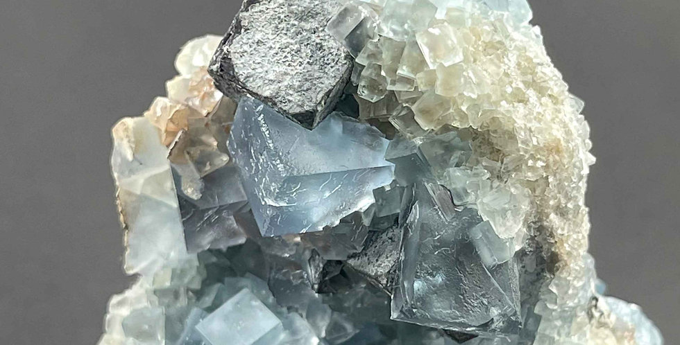 Fluorit, Calcit, Bleiglanz – Bingham, New Mexico, USA
