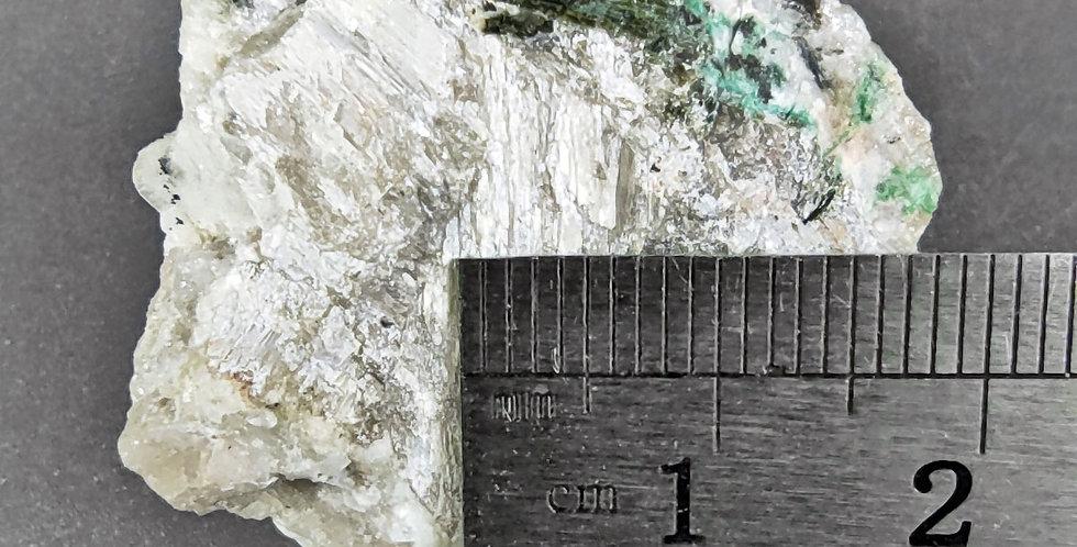Chloroxiphit in Mendipit - Merehead Quarry, Somerset, GB