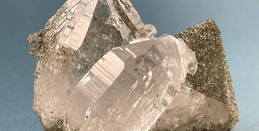 Quarz mit Chlorit - Rauris, Österreich