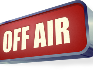 Off air from 9am to 11am Saturday 12th December due to essential maintenance