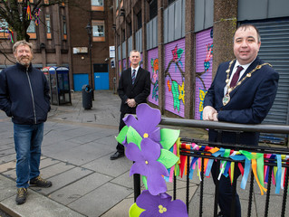 Colourful Spring street art brings new lease of life to city centre