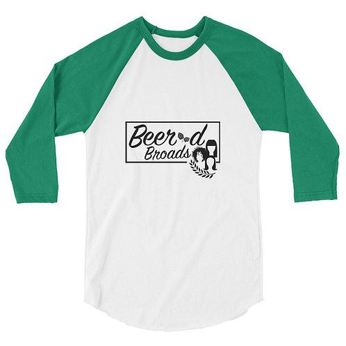 BB Logo 3/4 sleeve raglan shirt