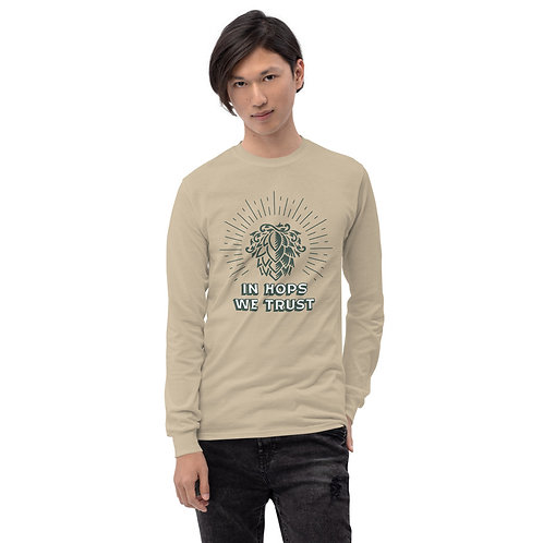 IHWT Logo Men's Long Sleeve Shirt
