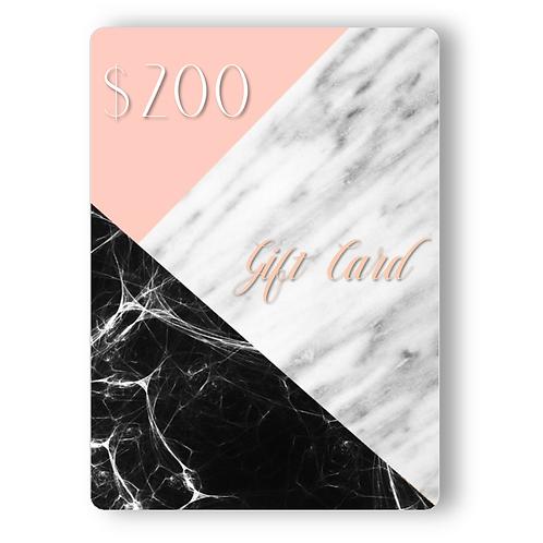 $200 TNB Gift Card