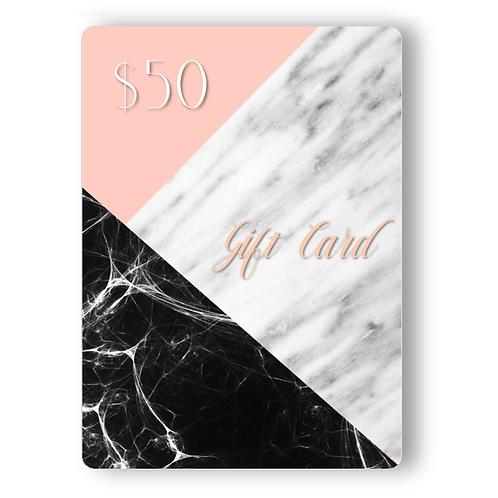 $50 TNB Gift Card