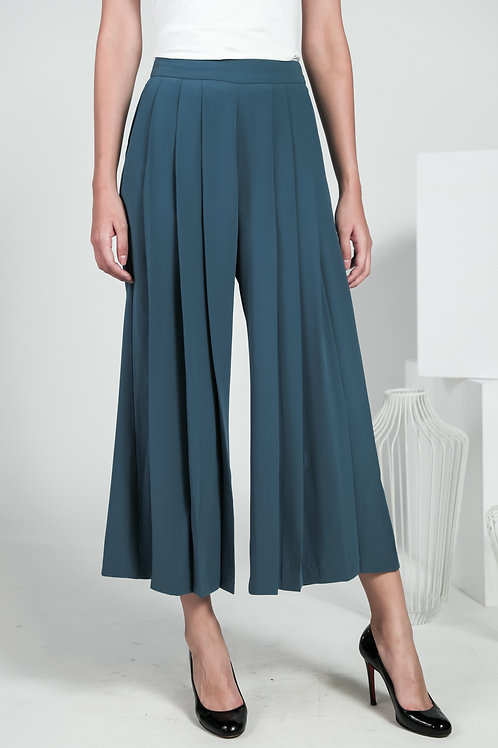 Coco Wide Pleated Culottes