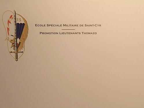 Carte de correspondance - Thomazo
