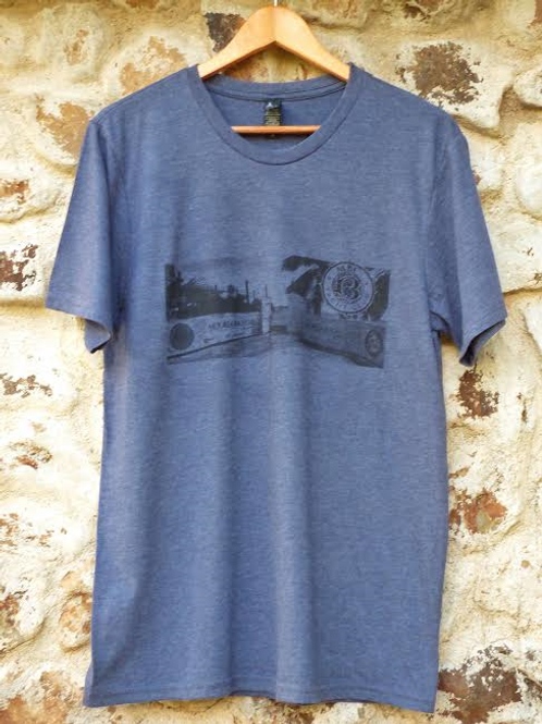 Men navy t-shirt