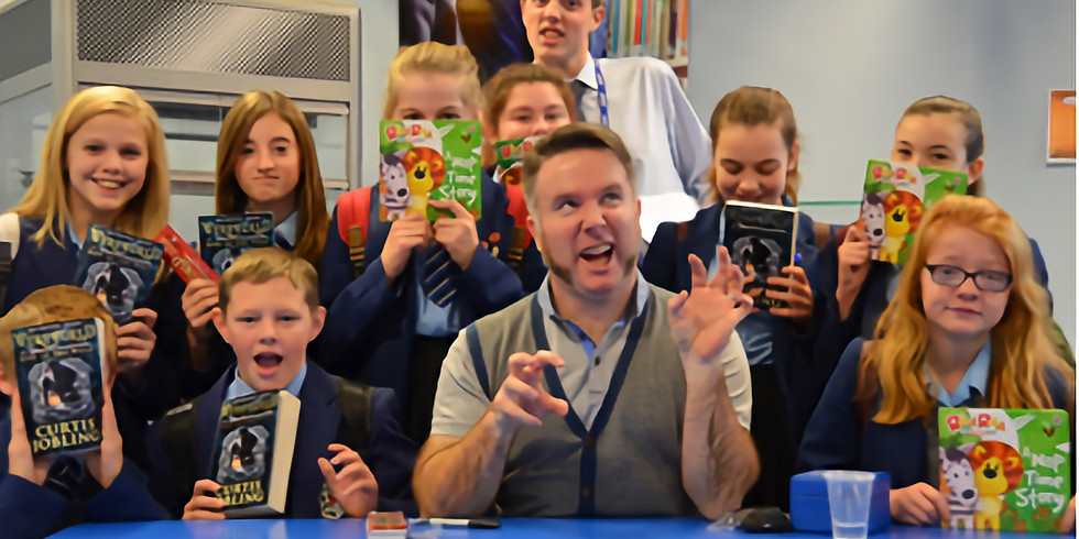 Word Wizard Workshop Featuring Guest Author, Curtis Jobling