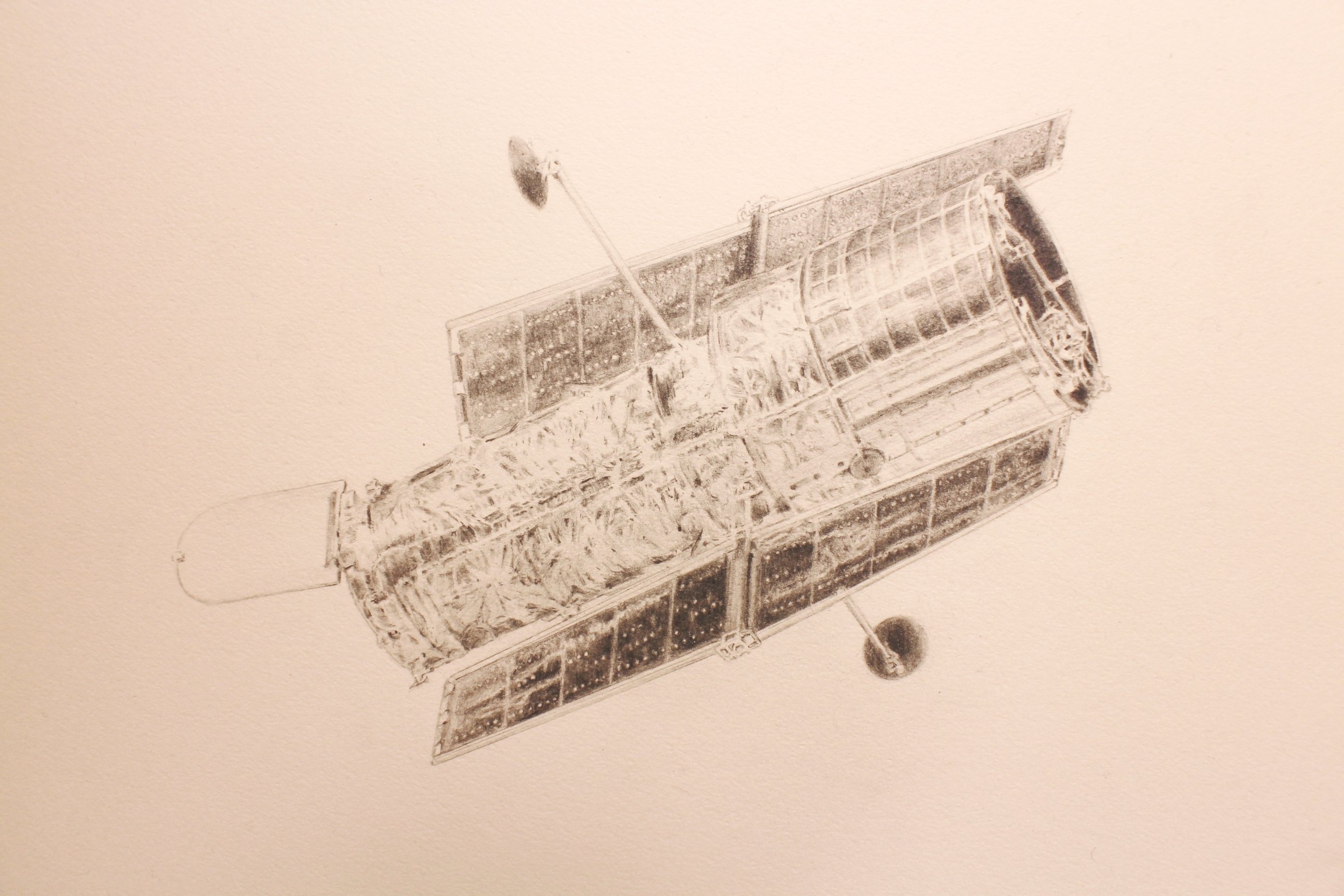 Hubble Telescope (a part of work)