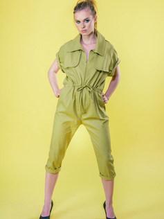 Mustard Cotton Pantsuit.jpg