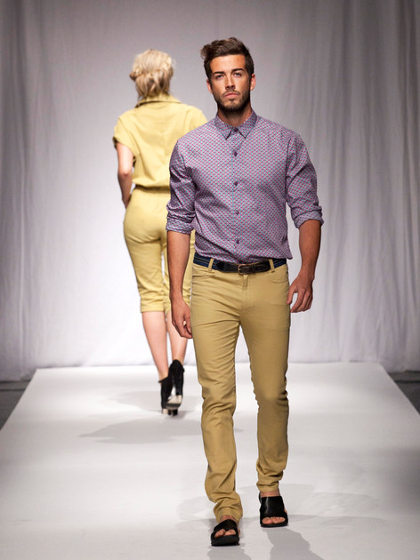 Tailored Shirt and Mustard Jean.jpg