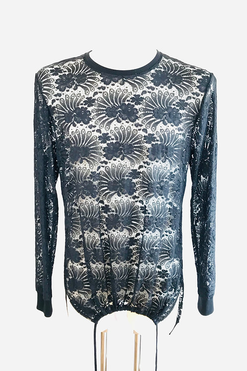 Fantail Lace Long-Sleeve