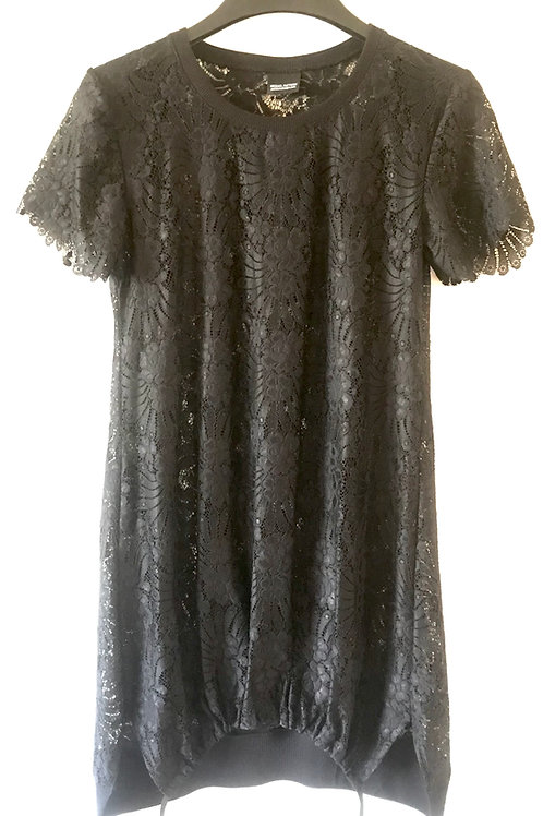 Fantail Lace Tee-Dress