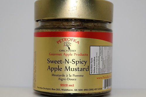 Spicy Apple Mustard