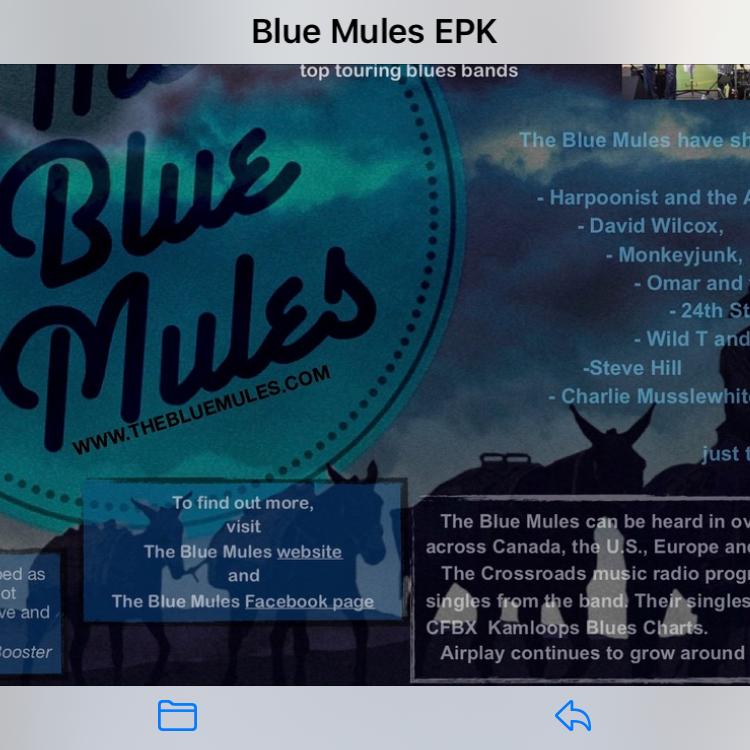 BLUE MULES
