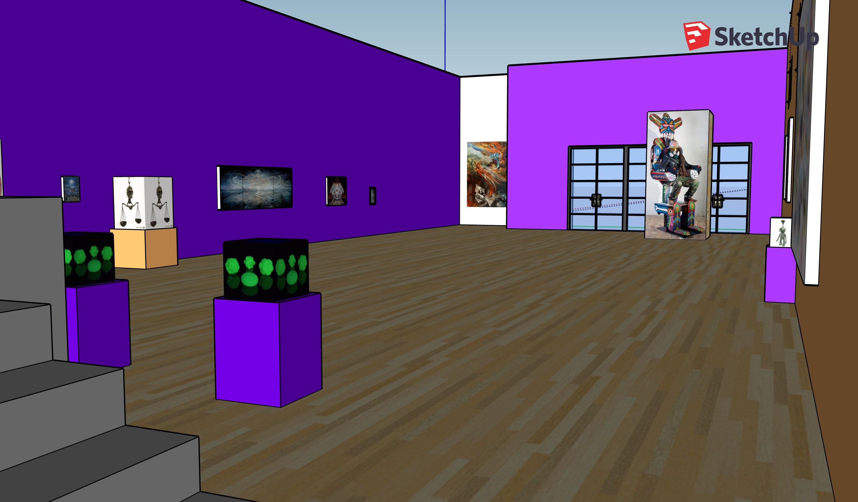 Animated Gallery Walkthroughs