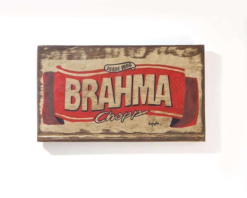 PLACA BRAHMA CHOPP (PLX001)