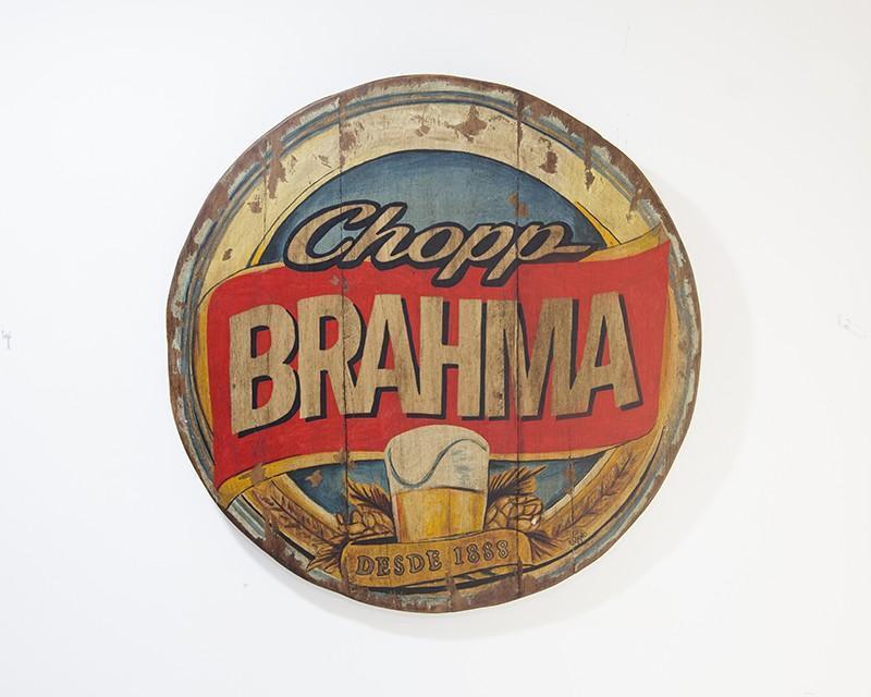 PLACA BRAHMA CHOPP (PLX 010)