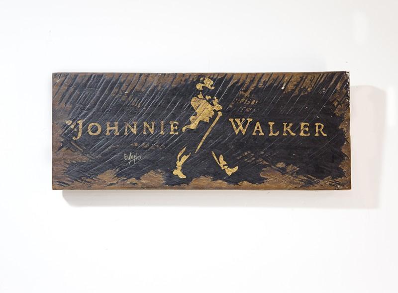 PLACA JOHNNIE WALKER (PLX 006)