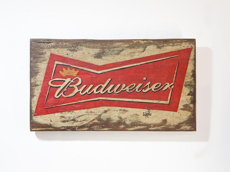 PLACA BUDWEISER (PLX 008)