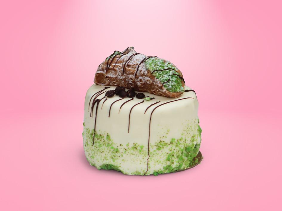 Cannoli mini cake