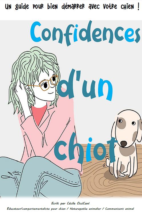 Confidences d'un chiot - EBOOK