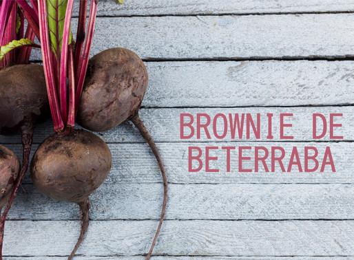 Brownie de Beterraba e a Nutrição Infantil: Tema da II Conversa no Quintal