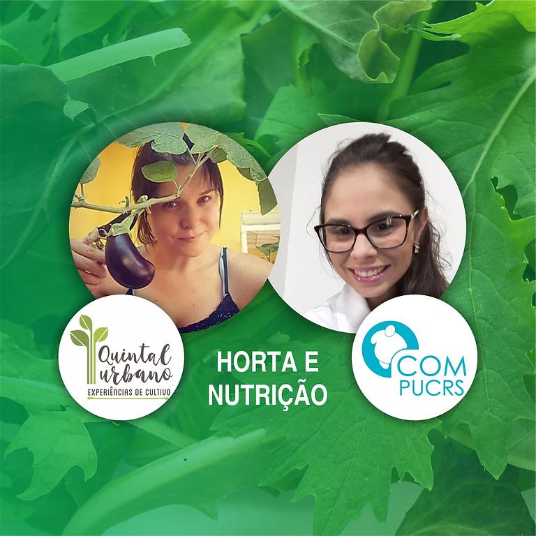 Live Quintal Urbano e Nutricionista COM