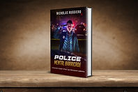Police Mental Barricade Book Cover mocku