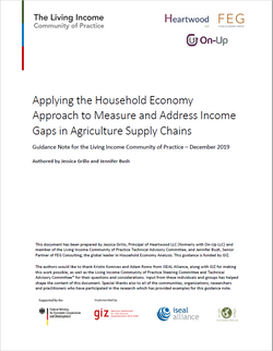 Applying the HEA to measure and address income gaps