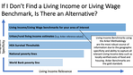 Alternatives to a Living Income or Livin