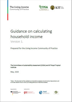 Guidance on calculating household income