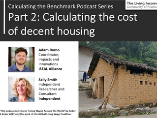Learning from benchmarking Living Income: 3.2 Calculating the cost of decent housing