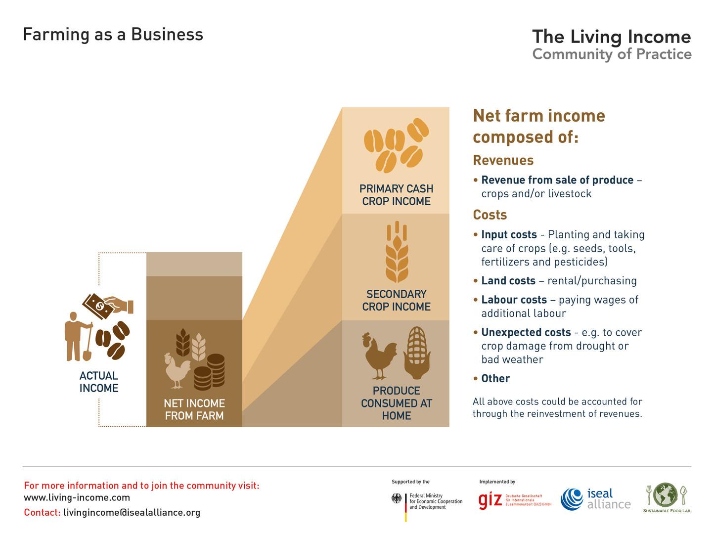 Farming as a business - 2019 ©LivingIncomeCommunityofPractice