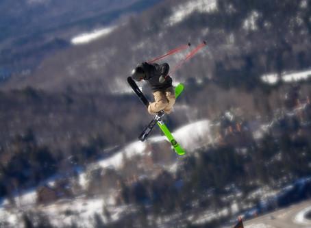 Magnifique semaine de printemps avec ski le gap a Mont-tremblant.