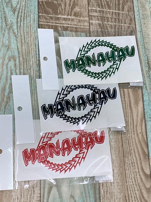 マナハウオリジナルステッカー/MANAHAU+PATIA