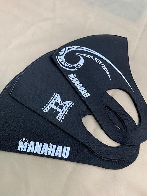マナハウ オリジナルマスク<ブラック>