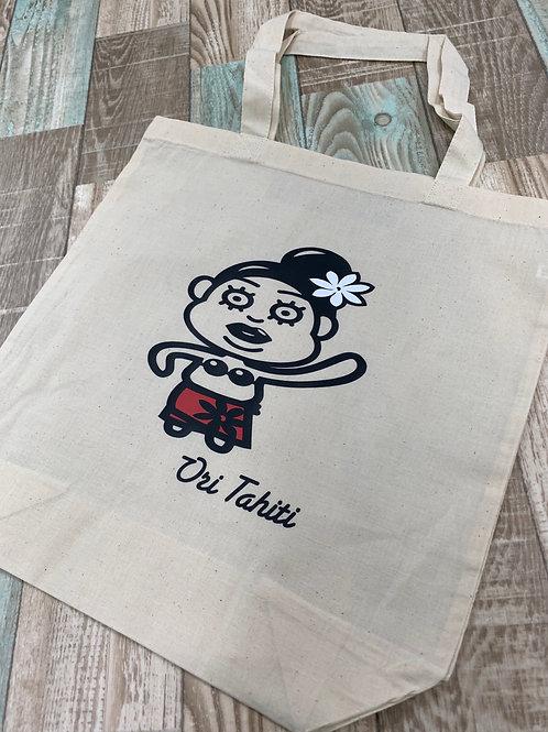 マナハウ オリジナル エコバッグ ~Tahitianおばちゃん~