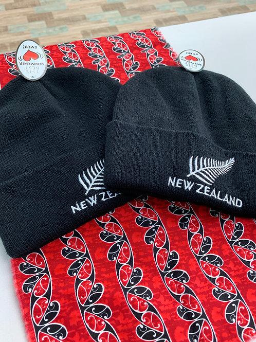 マオリニュージーランド ニット帽