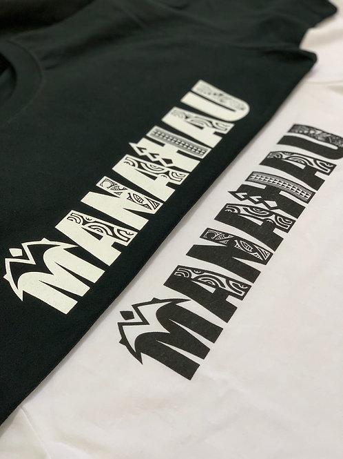 MANAHAU Tatau Logo 長袖Tシャツ