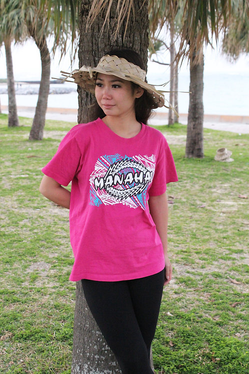 MANAHAU オリジナルTシャツ ~TAPA×PATIA~