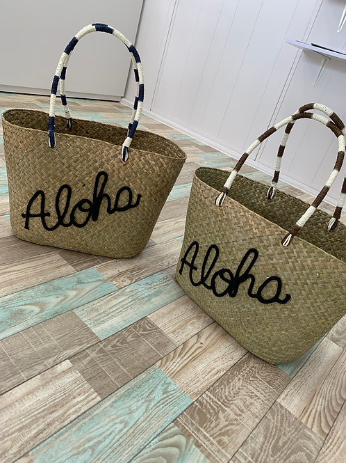 Aloha かごトートバッグ