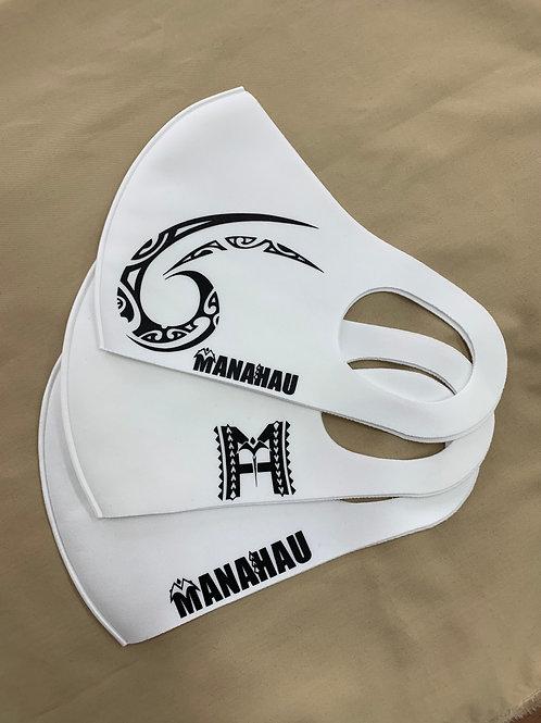 マナハウ オリジナルマスク<ホワイト>