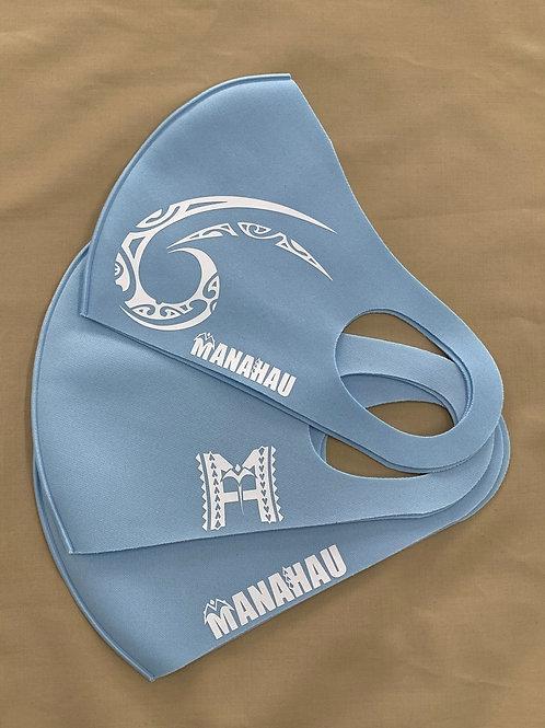 マナハウ オリジナルマスク<ブルー>