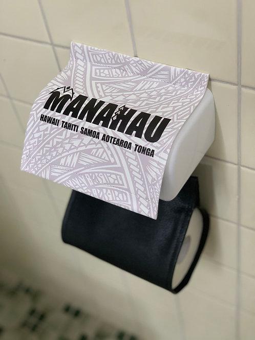 MANAHAU Logo トイレットペーパーカバー