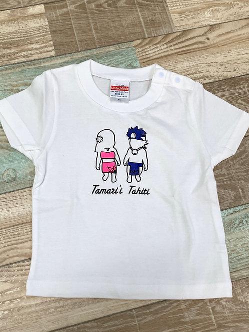 MANAHAU オリジナルベビーTシャツ ~Tamari'i~