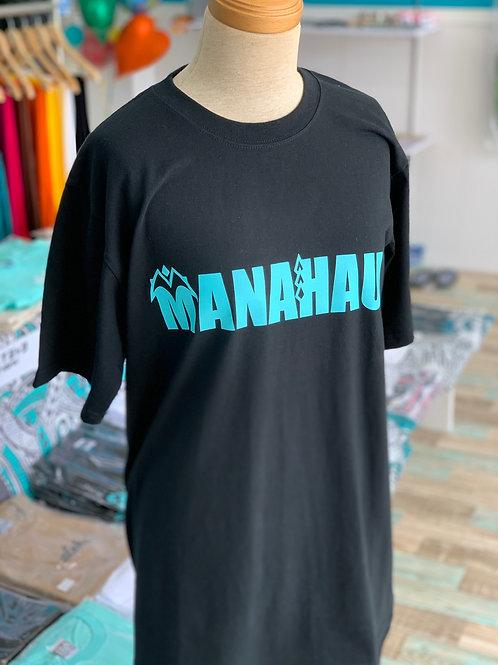 MANAHAU Logo Tシャツ